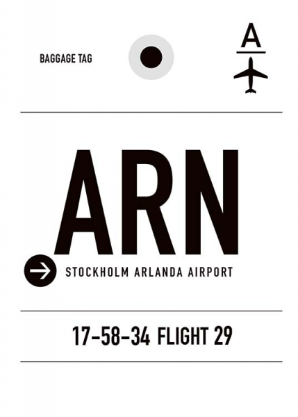 ARN Stockholm Poster in the group Prints / Sizes / 50x70cm | 20x28 at Desenio AB (10001)