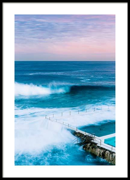 Bondi Sunset Poster in the group Prints / Nature at Desenio AB (10079)