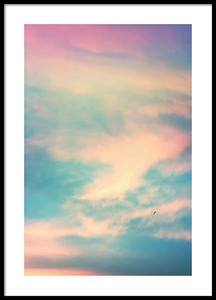 Pastel Sky Poster in the group Prints / Nature at Desenio AB (10080)