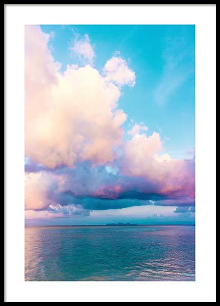 Colorful Sky Poster in the group Prints / Nature at Desenio AB (10081)
