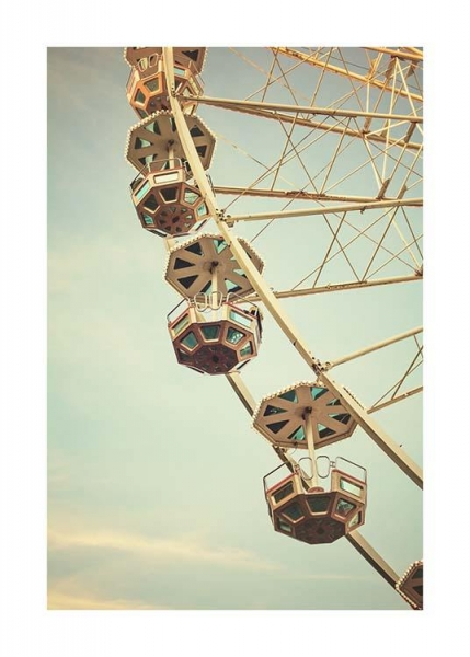 Ferris Wheel Poster in the group Prints / Photographs at Desenio AB (10094)