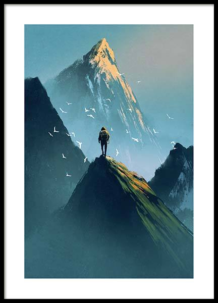 Wanderer Poster in the group Prints / Kids posters at Desenio AB (10120)
