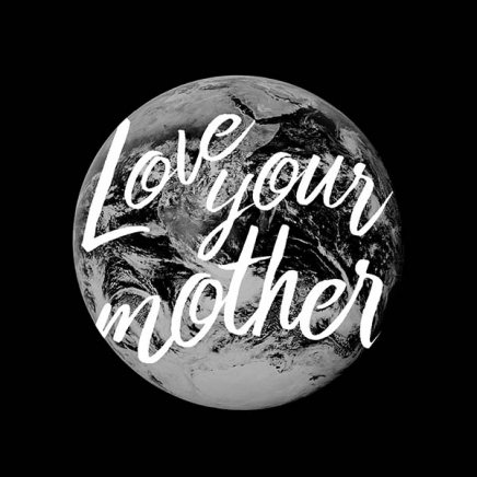 Love Your Mother Poster in the group Prints / Typography & quotes at Desenio AB (10135)