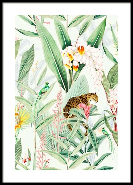 Tropic Chic Poster in the group Prints / Floral at Desenio AB (10147)