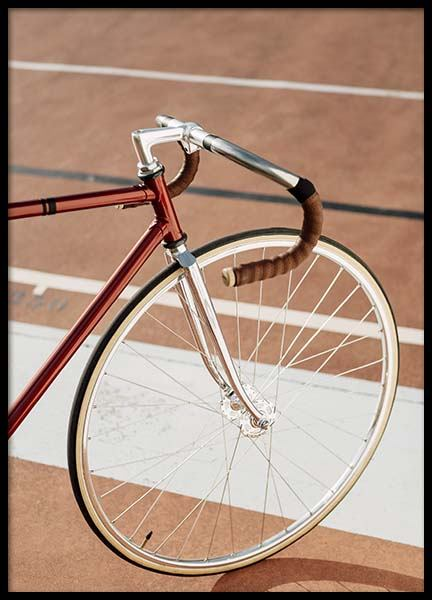 Track Bike Poster in the group Prints / Photographs at Desenio AB (10224)
