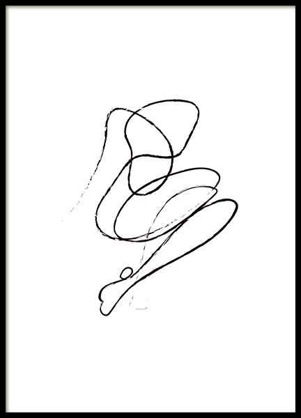 Abstract Nudes No1 Poster in the group Prints / Illustrations at Desenio AB (10318)