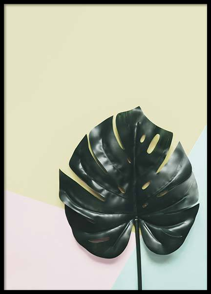 Pastel Leaf Poster in the group Prints / Floral at Desenio AB (10339)