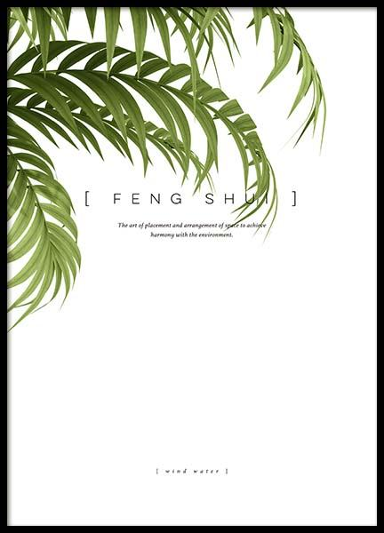 Feng Shui Poster in the group Prints / Typography & quotes at Desenio AB (10363)