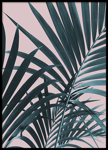Pastel Palm No1 Poster in the group Prints / Floral at Desenio AB (10388)