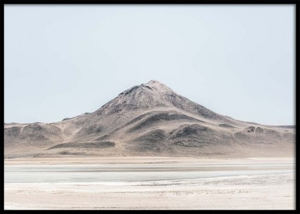 Salt Desert Poster in the group Prints / Nature at Desenio AB (10393)