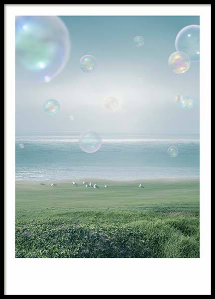 Soap Bubbles Poster in the group Prints / Photographs at Desenio AB (10455)
