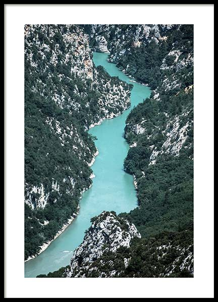Gole del Verdon Poster in the group Prints / Nature at Desenio AB (10459)