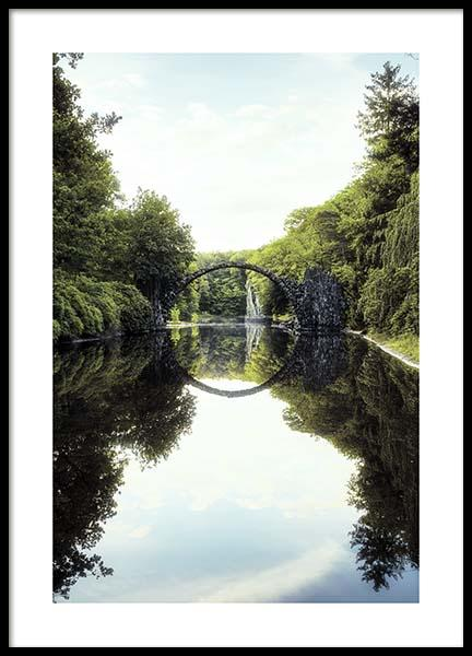Devils Bridge Poster in the group Prints / Nature at Desenio AB (10463)