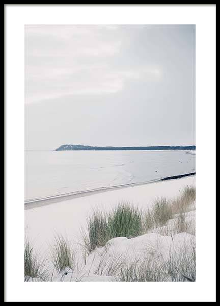 Ruegen Beach Poster in the group Prints / Nature prints at Desenio AB (10465)
