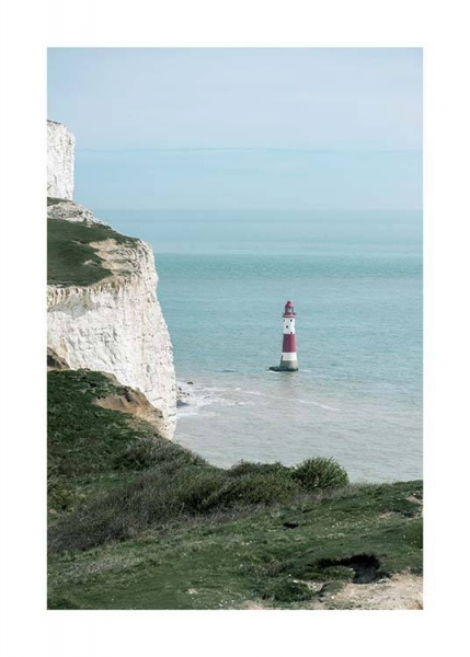 Beachy Head Lighthouse Poster in the group Prints / Nature at Desenio AB (10471)