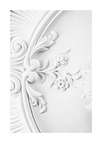 Baroque Stucco Poster in the group Prints / Photographs at Desenio AB (10486)