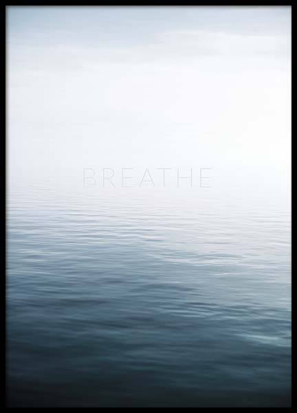 Breathe by the Sea Poster in the group Prints / Nature at Desenio AB (10491)