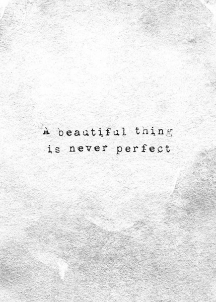 Beautiful Thing Poster in the group Prints / Typography & quotes at Desenio AB (10523)