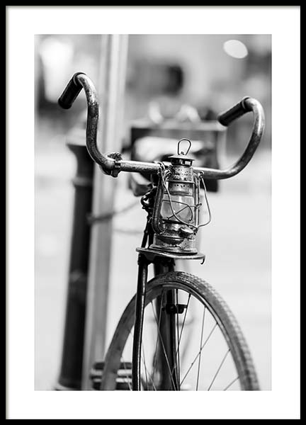 Old Bike Poster in the group Prints / Sizes / 50x70cm | 20x28 at Desenio AB (10549)