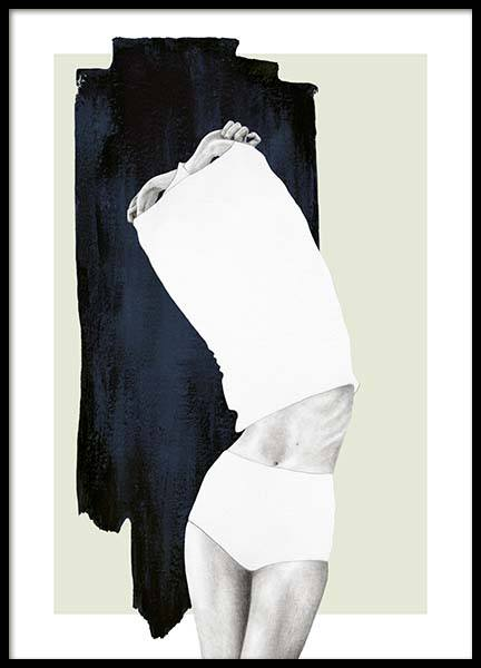 Undressing Poster in the group Prints / Art prints at Desenio AB (10583)