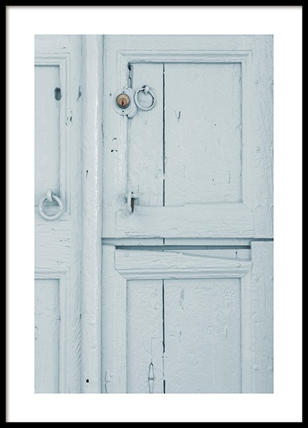Pastel Door Poster in the group Prints / Sizes / 50x70cm | 20x28 at Desenio AB (10638)