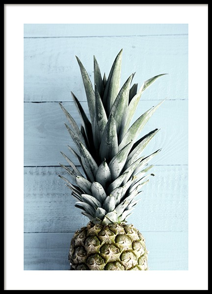 Pineapple Top Poster in the group Prints / Kitchen at Desenio AB (10660)
