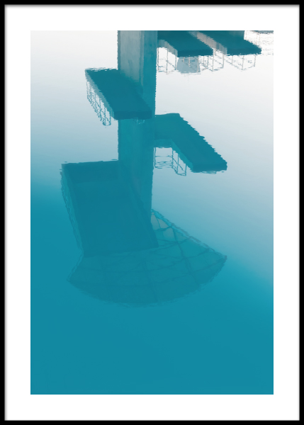 Diving board Poster in the group Prints / Sizes / 50x70cm | 20x28 at Desenio AB (10667)