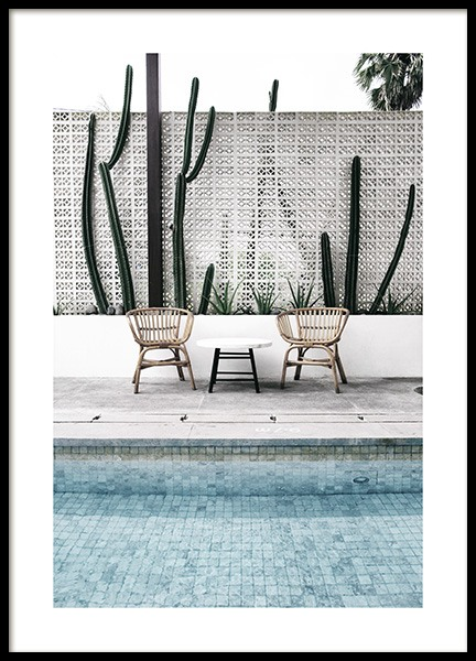 Pool Edge Poster in the group Prints / Photographs at Desenio AB (10671)