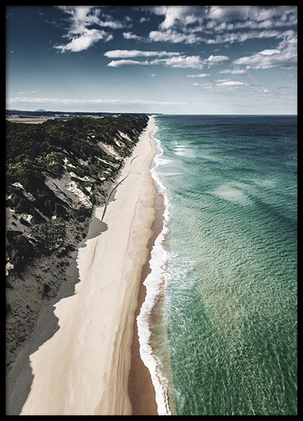 Coastline Aerial Poster in the group Prints / Nature at Desenio AB (10682)