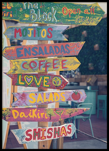 Coffee & Love Poster in the group Prints / Photographs at Desenio AB (10700)