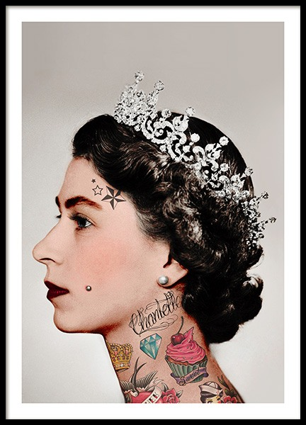 Punk Royale Poster in the group Prints / Photographs at Desenio AB (10714)