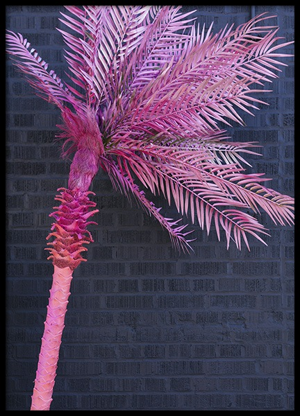 Neon Palm Poster in the group Prints / Floral at Desenio AB (10715)