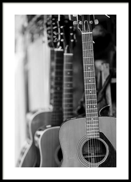 Guitar Poster in the group Prints / Photographs at Desenio AB (10717)