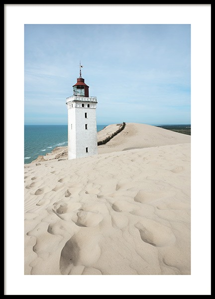Rubjerg Knude Lighthouse Poster in the group Prints / Nature at Desenio AB (10752)
