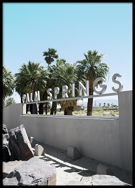 Palm Springs Poster in the group Studio / Coast to coast / Studio Palm Springs at Desenio AB (10788)