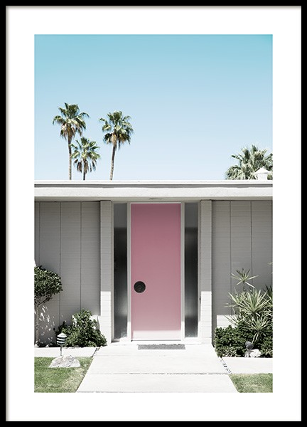 Palm Springs Door Poster in the group Studio Collections / Studio Coast to Coast / Palm Springs at Desenio AB (10793)