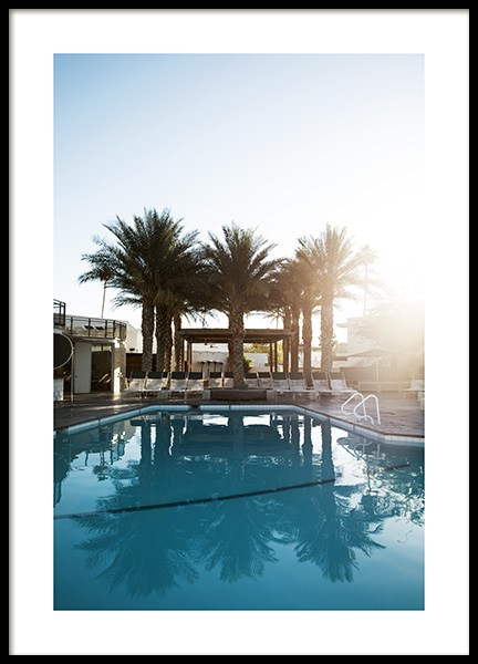 Palm Springs Hotel Poster in the group Prints / Photographs at Desenio AB (10795)