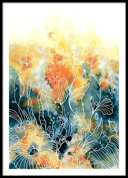 Floral Flirt No3 Poster in the group Prints / Art prints at Desenio AB (10848)
