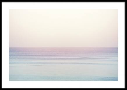 Pastel Horizon Poster in the group Prints / Nature at Desenio AB (10881)