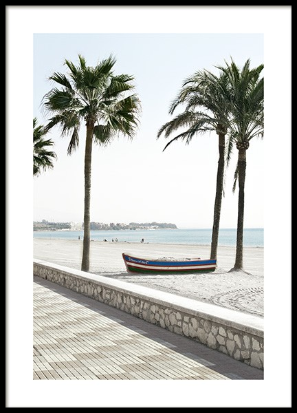 Costa del Sol Beach Poster in the group Prints / Nature at Desenio AB (10889)