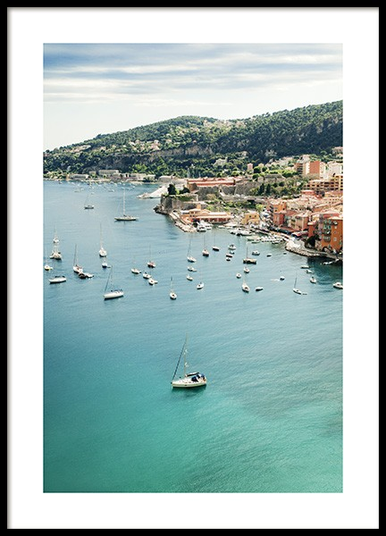 Sea View France Poster in the group Prints / Nature at Desenio AB (10894)