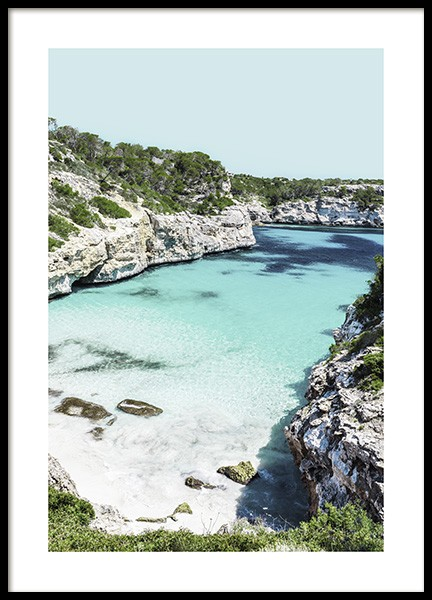 Mallorca Bay Poster in the group Prints / Nature at Desenio AB (10895)