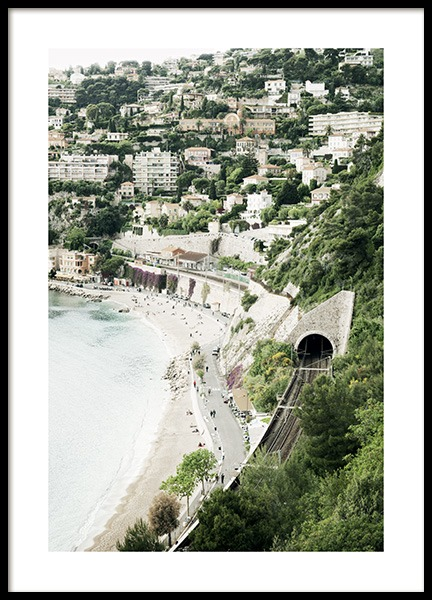 View French Riviera Poster in the group Prints / Sizes / 50x70cm | 20x28 at Desenio AB (10896)