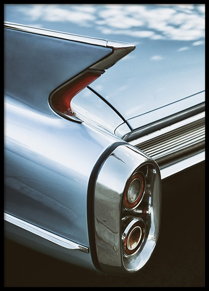 Cadillac Sky Poster in the group Prints / Photographs at Desenio AB (10923)