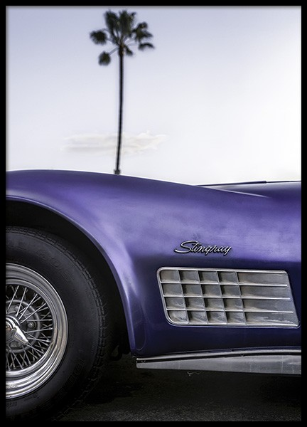 Cali Purple Poster in the group Prints / Photographs at Desenio AB (10924)