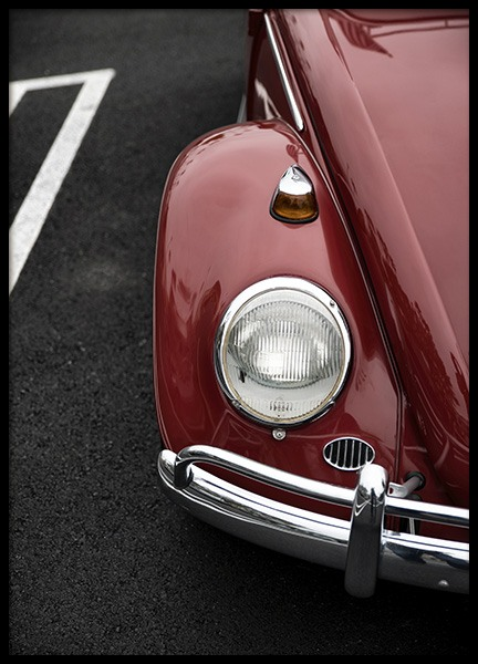 Red Beetle Poster in the group Prints / Photographs at Desenio AB (10928)