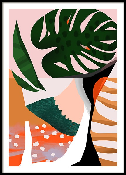 Abstract Garden No1 Poster in the group Prints / Art prints at Desenio AB (10937)