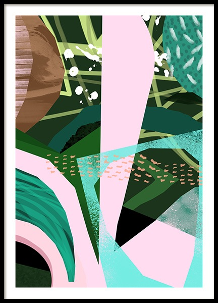 Abstract Garden No5 Poster in the group Prints / Art prints at Desenio AB (10941)