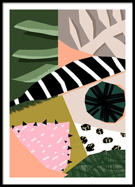 Abstract Garden No6 Poster in the group Prints / Art prints at Desenio AB (10942)