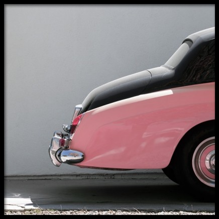 Pink Car Poster in the group Prints / Photographs at Desenio AB (10952)